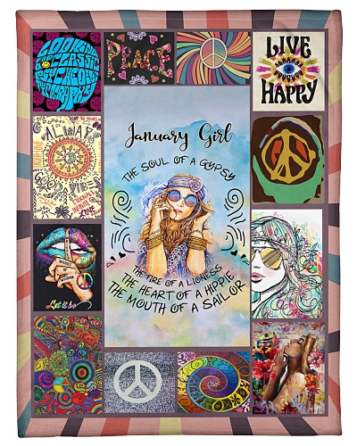 JANUARY GIRL - THE SOUL OF A GYPSY