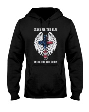 STAND FOR THE FLAG - WARRIOR OF CHRIST Hooded Sweatshirt thumbnail