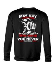 AS A MAY GUY - I HAVE 3 SIDES Crewneck Sweatshirt thumbnail