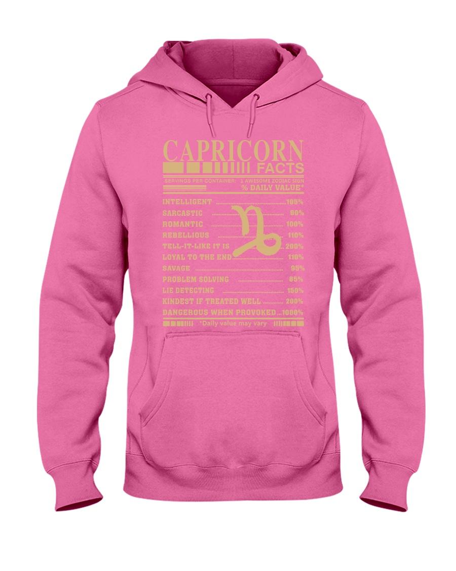 CAPRICORN FACTS Hooded Sweatshirt