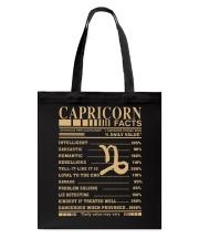 CAPRICORN FACTS Tote Bag thumbnail