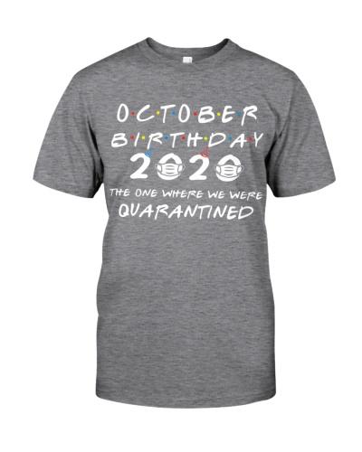 OCTOBER BIRTHDAY 2020 WHERE WE WERE QUARANTINED