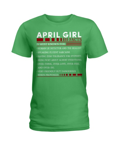 APRIL GIRL FACTS