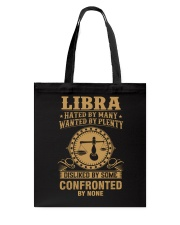 LIBRA - HATED BY MANY Tote Bag thumbnail