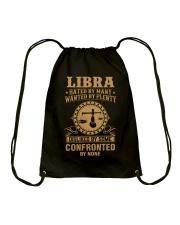 LIBRA - HATED BY MANY Drawstring Bag thumbnail