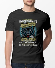 NEVER UNDERESTIMATE A JANUARY GUY Classic T-Shirt lifestyle-mens-crewneck-front-13