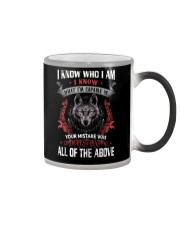 WOLVES - I KNOW WHO I AM Color Changing Mug thumbnail