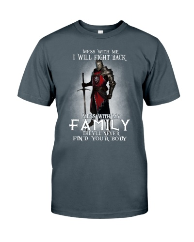 DONT MESS WITH MY FAMILY - WARRIOR OF CHRIST