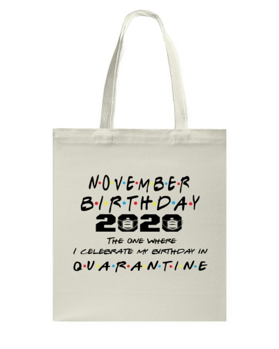 NOVEMBER BIRTHDAY 2020 CELEBRATE IN QUARANTINE