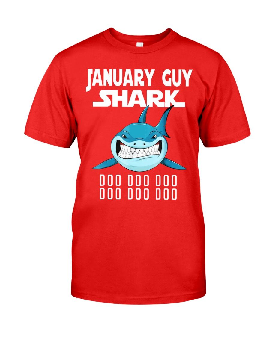 JANUARY GUY SHARK DOO DOO DOO Classic T-Shirt