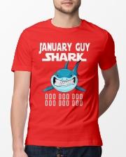 JANUARY GUY SHARK DOO DOO DOO Classic T-Shirt lifestyle-mens-crewneck-front-13