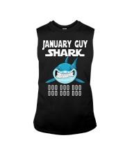 JANUARY GUY SHARK DOO DOO DOO Sleeveless Tee thumbnail