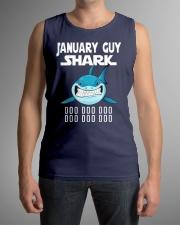 JANUARY GUY SHARK DOO DOO DOO Sleeveless Tee lifestyle-unisex-tank-front-1