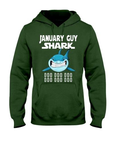 JANUARY GUY SHARK DOO DOO DOO