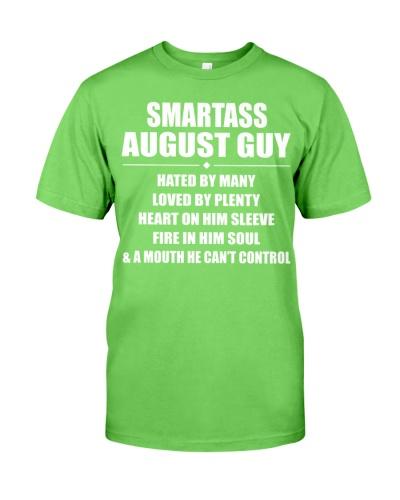 SMARTASS AUGUST GUY