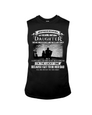GOD BLESSED ME WITH AN ANGEL MY AWESOME DAUGHTER Sleeveless Tee thumbnail