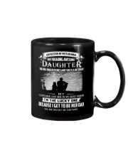 GOD BLESSED ME WITH AN ANGEL MY AWESOME DAUGHTER Mug tile