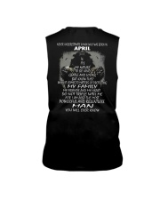 NEVER UNDERESTIMATE A MAN WHO WAS BORN IN APRIL Sleeveless Tee thumbnail