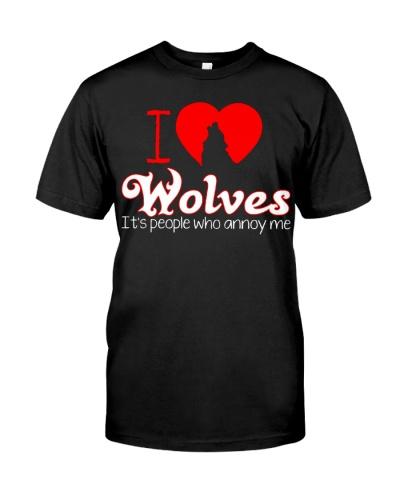 WOLVES - I LOVE WOLVES