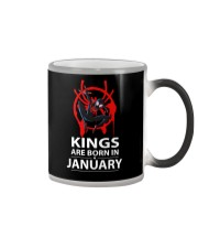 KINGS ARE BORN IN JANUARY Color Changing Mug thumbnail
