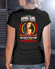 AS AN APRIL GIRL Ladies T-Shirt lifestyle-women-crewneck-back-3