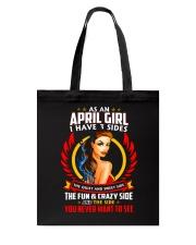 AS AN APRIL GIRL Tote Bag thumbnail
