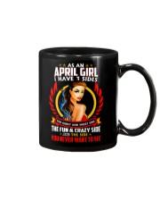 AS AN APRIL GIRL Mug thumbnail