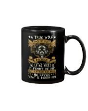 WOLVES - A TRUE WOLF Mug thumbnail
