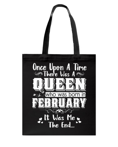 ONE UPON A TIME THERE WAS A FEBRUARY QUEEN
