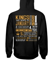 KINGS ARE BORN IN JANUARY Hooded Sweatshirt thumbnail