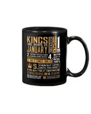 KINGS ARE BORN IN JANUARY Mug thumbnail