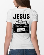 JESUS JAM- WARRIOR OF CHRIST Ladies T-Shirt lifestyle-women-crewneck-back-4