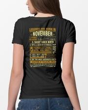 LEGENDS ARE BORN IN NOVEMBER Ladies T-Shirt lifestyle-women-crewneck-back-4