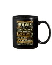 LEGENDS ARE BORN IN NOVEMBER Mug thumbnail
