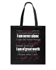 DAUGHTERS OF GOD - WARRIOR OF CHRIST Tote Bag thumbnail