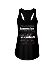 DAUGHTERS OF GOD - WARRIOR OF CHRIST Ladies Flowy Tank thumbnail