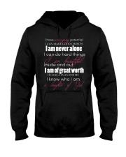 DAUGHTERS OF GOD - WARRIOR OF CHRIST Hooded Sweatshirt thumbnail