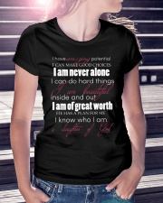 DAUGHTERS OF GOD - WARRIOR OF CHRIST Ladies T-Shirt lifestyle-women-crewneck-front-7