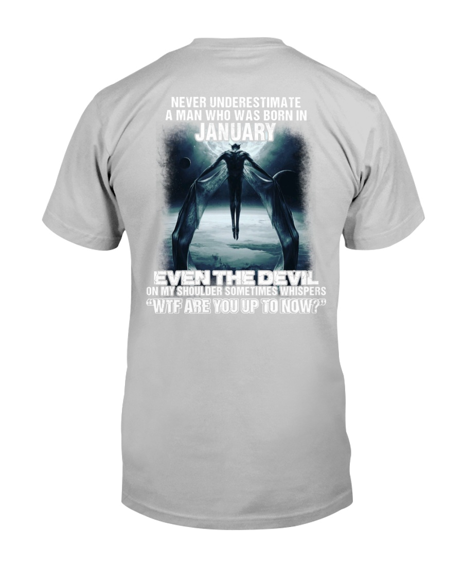 DEVIL WHISPERED - JANUARY Classic T-Shirt