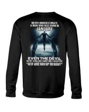 DEVIL WHISPERED - JANUARY Crewneck Sweatshirt thumbnail