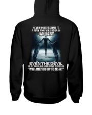 DEVIL WHISPERED - JANUARY Hooded Sweatshirt thumbnail