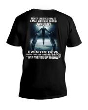 DEVIL WHISPERED - JANUARY V-Neck T-Shirt thumbnail