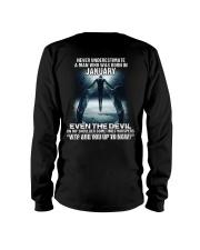 DEVIL WHISPERED - JANUARY Long Sleeve Tee thumbnail