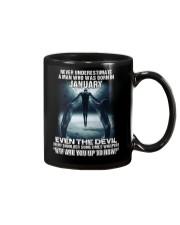 DEVIL WHISPERED - JANUARY Mug thumbnail