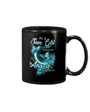 JUNE GIRL BELIEVE THERE ARE ANGELS AMONG US Mug thumbnail