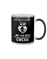 WOLVES - CIRCUS Color Changing Mug thumbnail