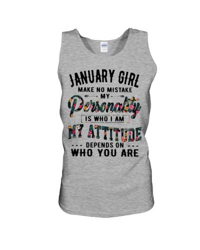 JANUARY GIRL MAKE NO MISTAKE