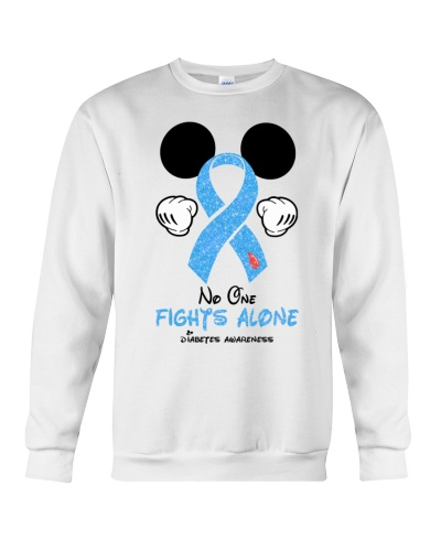 NO ONE FIGHTS ALONE - DIABETES AWARENESS