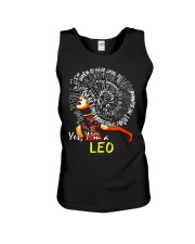 YES I AM A LEO Unisex Tank thumbnail