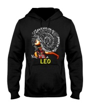 YES I AM A LEO Hooded Sweatshirt thumbnail